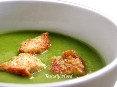 Traditional Polish Pea Soup